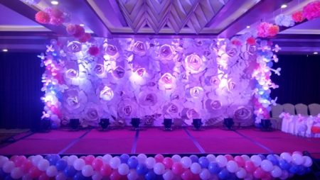 Floral Themed 1st Birthday Party Peppermint Events Entertainment